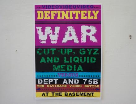 DEFINITELY WAR
